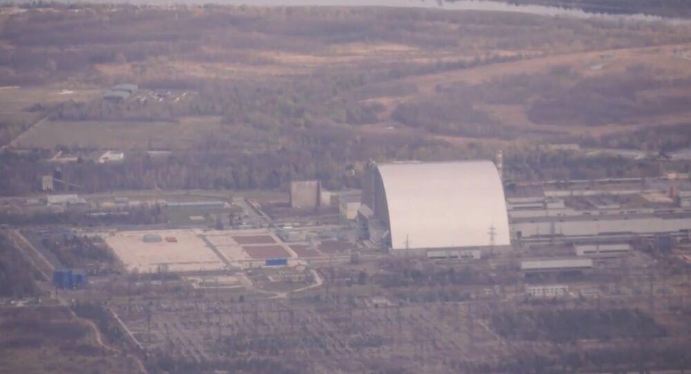 Çernobil felaketinin 35. yıldönümünde yasak bölge üzerinde uçuş gerçekleştirildi
