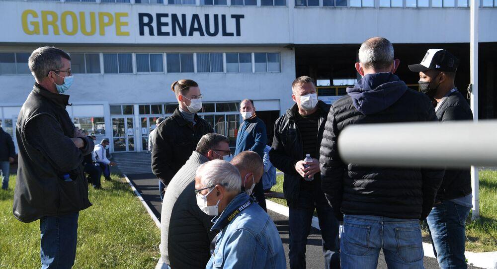 Fransa- Renault fabrikası