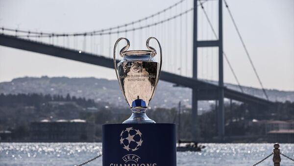 UEFA Şampiyonlar Ligi kupası - Sputnik Türkiye