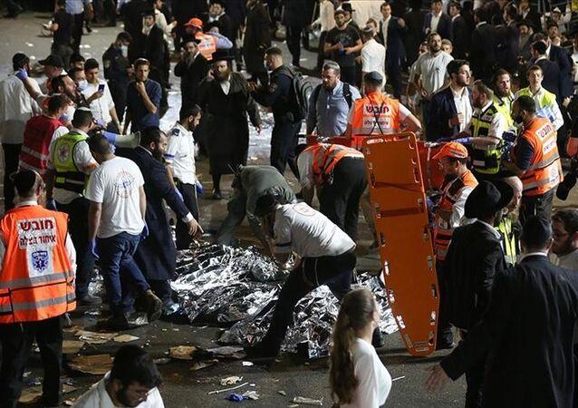 İsrail'de ultra Ortodoks Yahudilerin Safed kentindeki Meron Dağı'nda düzenlediği Lag B'Omer bayramı kutlamasında çıkan izdihamda onlarca kişi öldü.