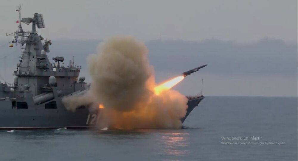 Rusya, Moskva kruvazörüyle Karadeniz'de Vulkan füzesini denedi
