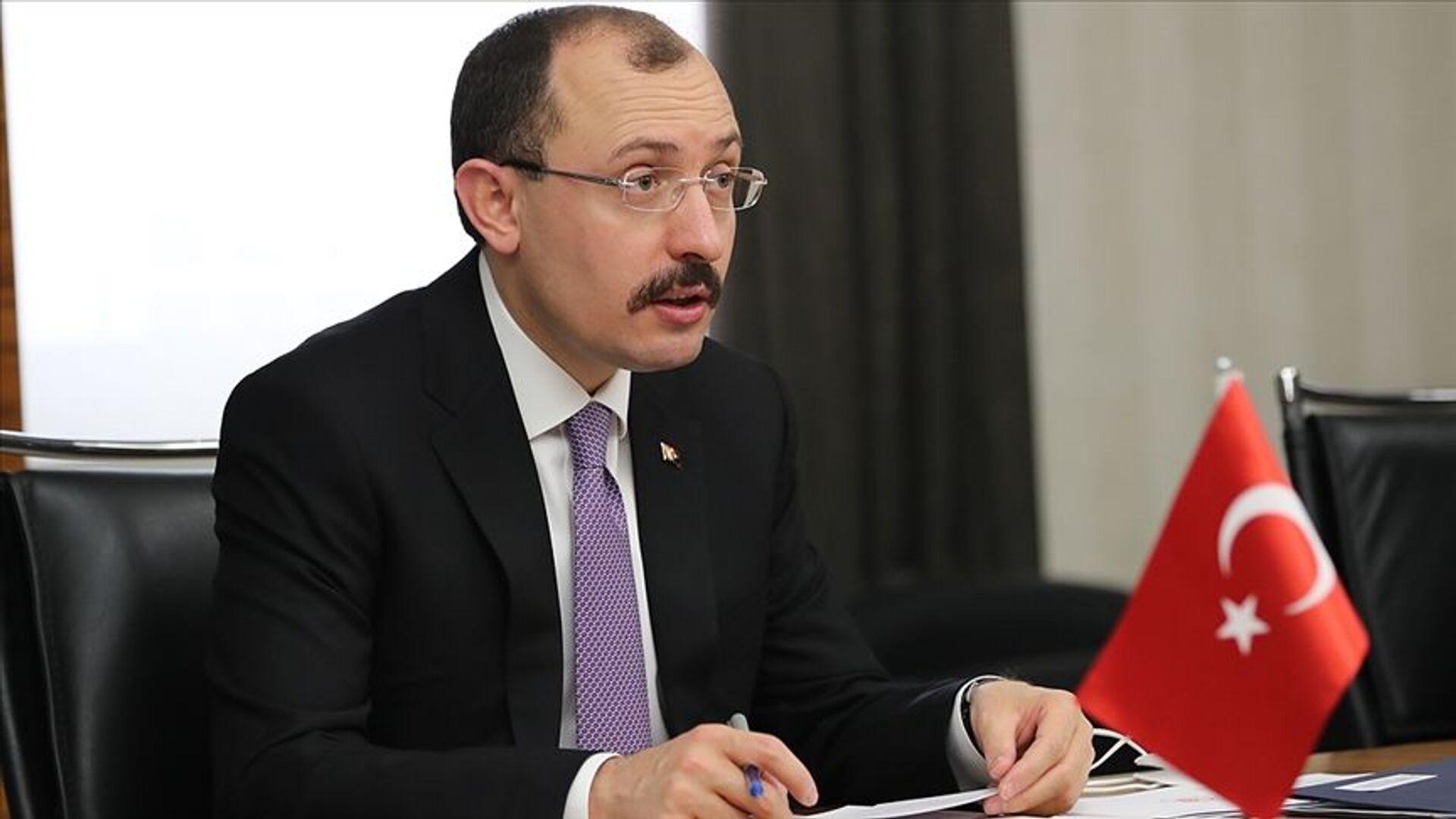 Ticaret Bakanı Mehmet Muş - Sputnik Türkiye, 1920, 30.04.2021