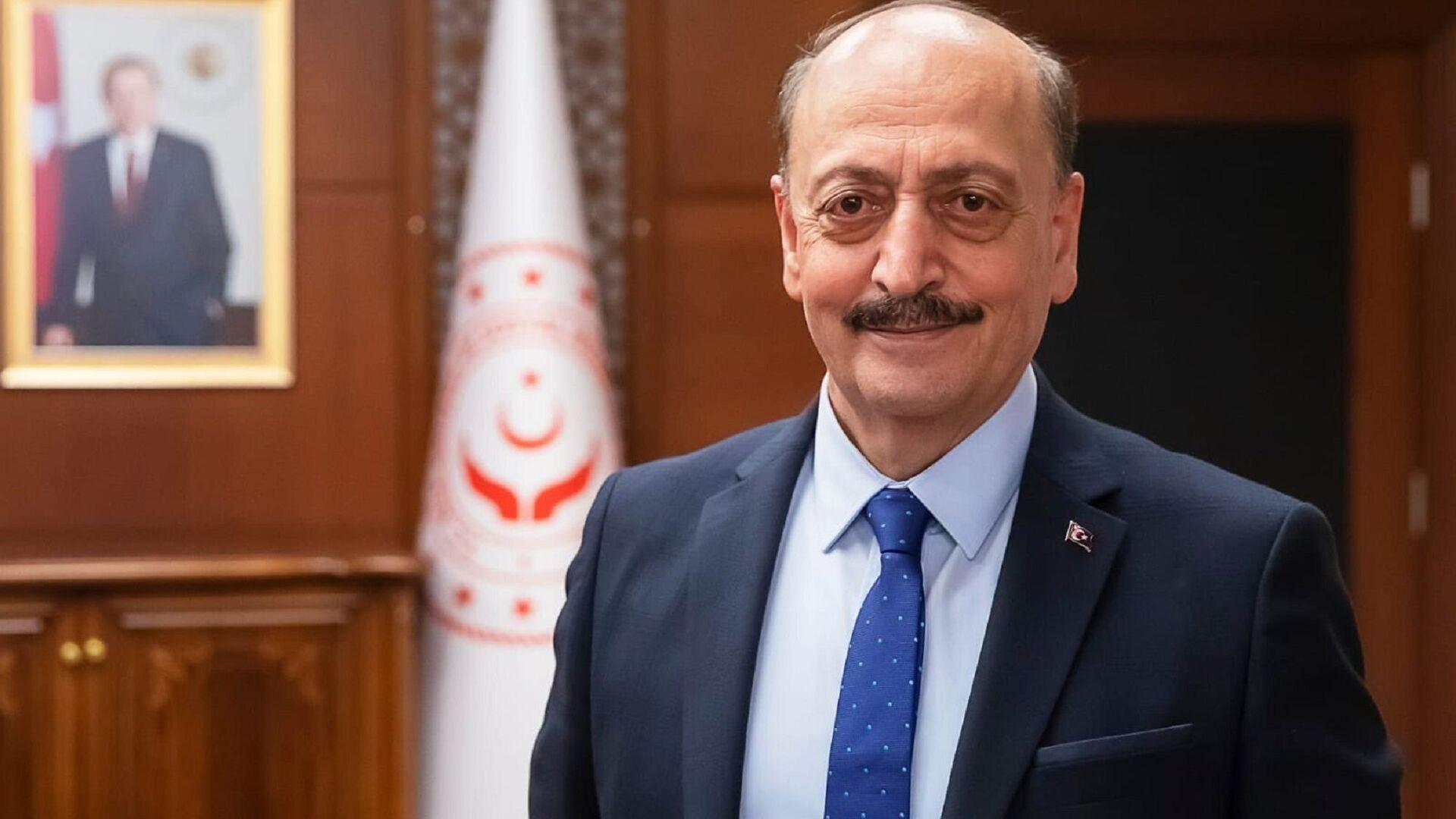 Çalışma ve Sosyal Güvenlik Bakanı Vedat Bilgin - Sputnik Türkiye, 1920, 30.07.2021