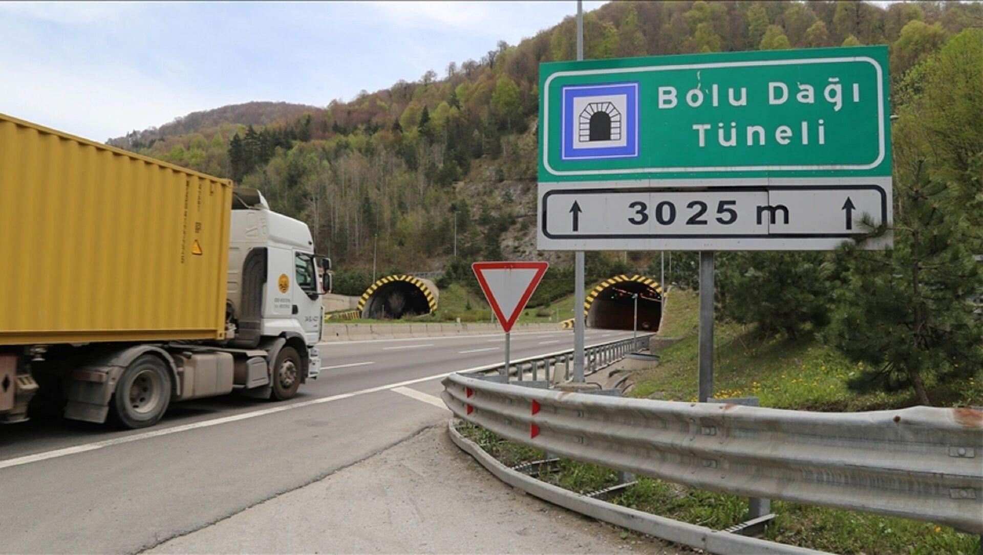 Bolu Dağı Tüneli - Sputnik Türkiye, 1920, 30.04.2021