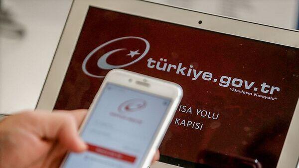e-devlet - Türkiye.gov.tr - Sputnik Türkiye