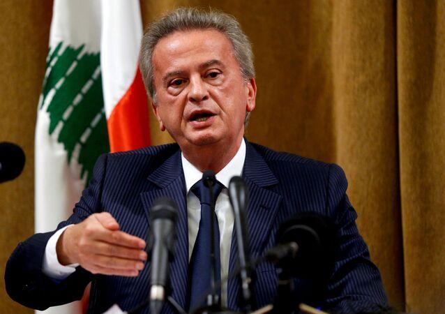 Lübnan Merkez Bankası BaşkanıRiyadSelame (Riad Salameh)