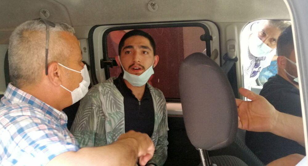 8 aylık hamile eşini öldüren Ramazan Menek yakalandı - Sputnik Türkiye