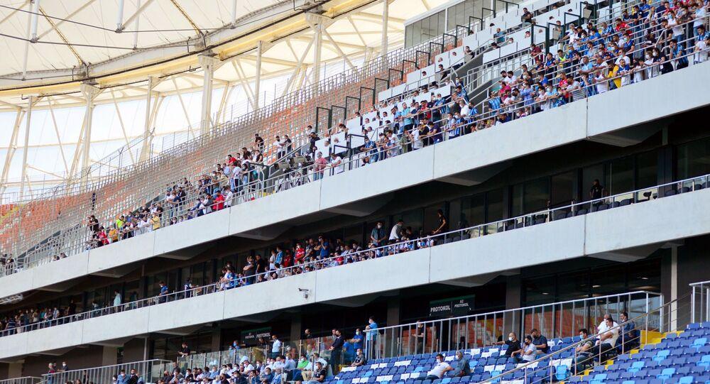 Adana Valiliği'nden Adana Demirspor-Aydeniz Et Balıkesirspor maçı taraftar  yoğunluğu açıklaması - Sputnik Türkiye