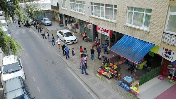 Eczane, kuyruk,  - Sputnik Türkiye