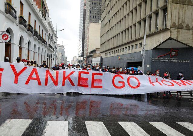 Venezüella'da 1 Mayıs gösterileri