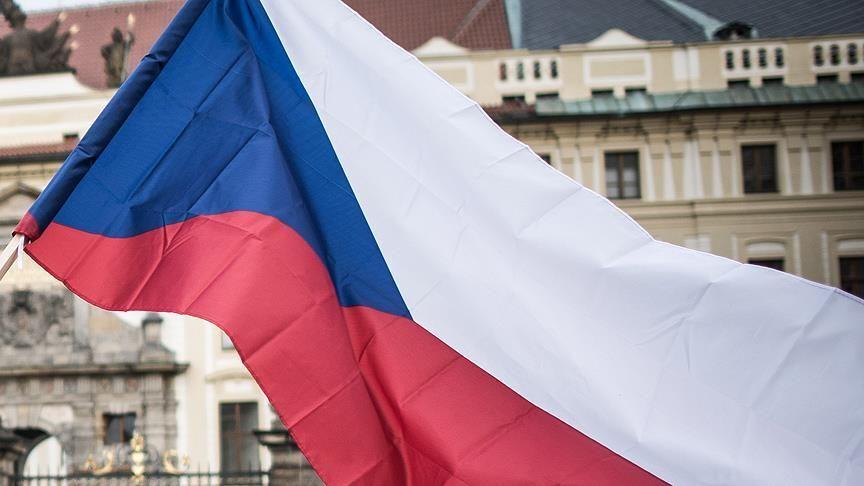 Çekya bayrak