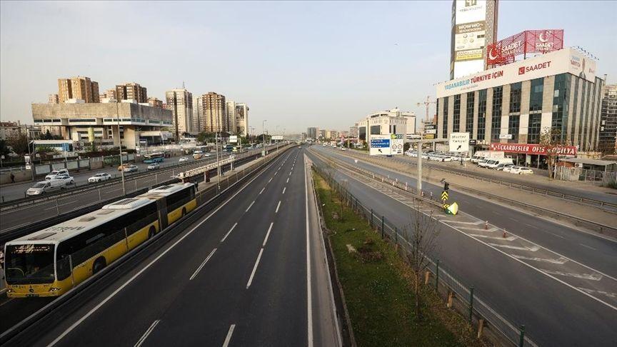 İstanbul tam kapanma / İstanbul az trafik