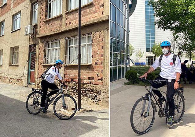 Türkiye'nin 'bisikletli doktoru': 120 kiloydum, işimi bisikletle yaparak 50 kilo zayıfladım