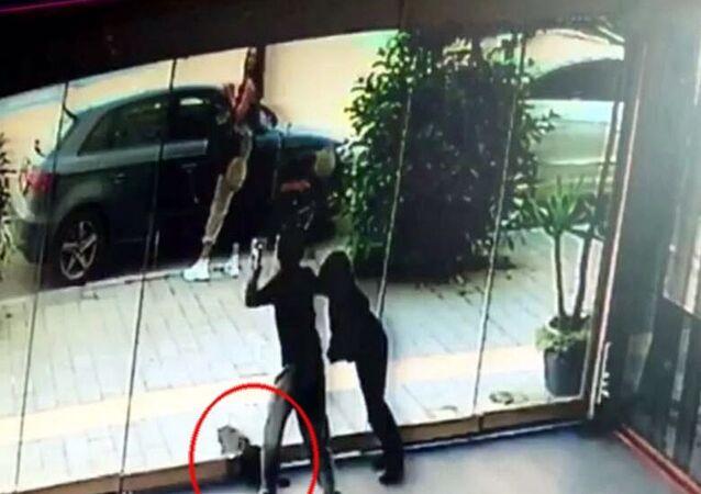 İzmir'de iki çocuk kediyi bayıltana kadar dövdü