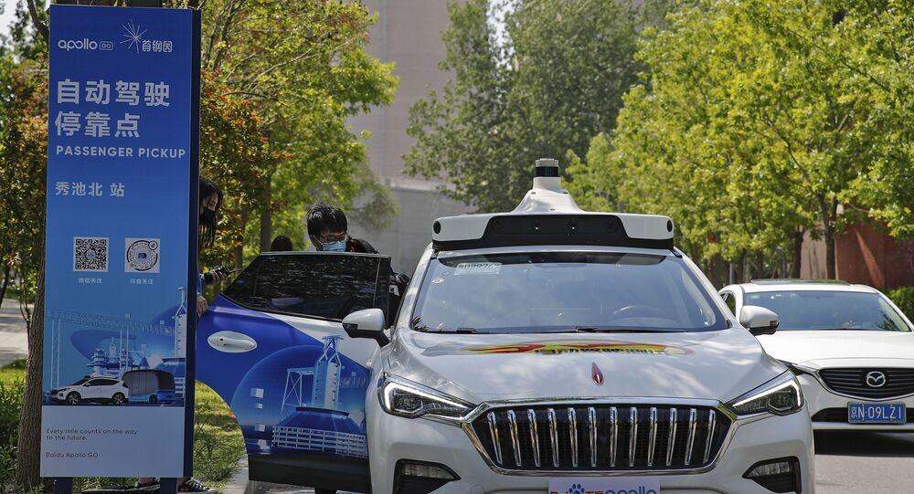 Çinli teknoloji devinden sürücüsüz taksi atılımı