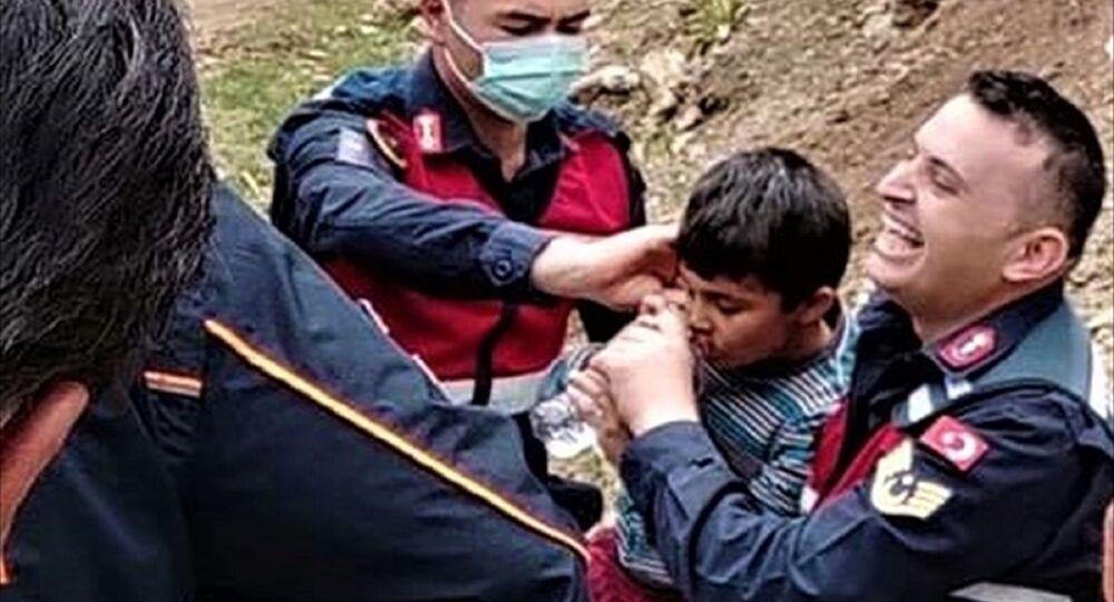 Burdur'da kaybolan otizmli çocuk 46 saat sonra bulundu