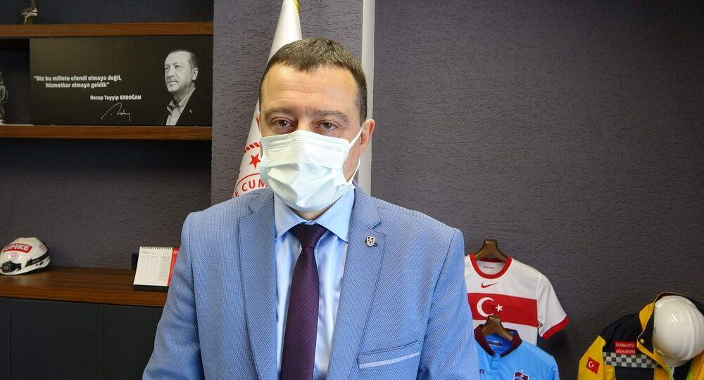 Trabzonİl Sağlık Müdürü Hakan Usta