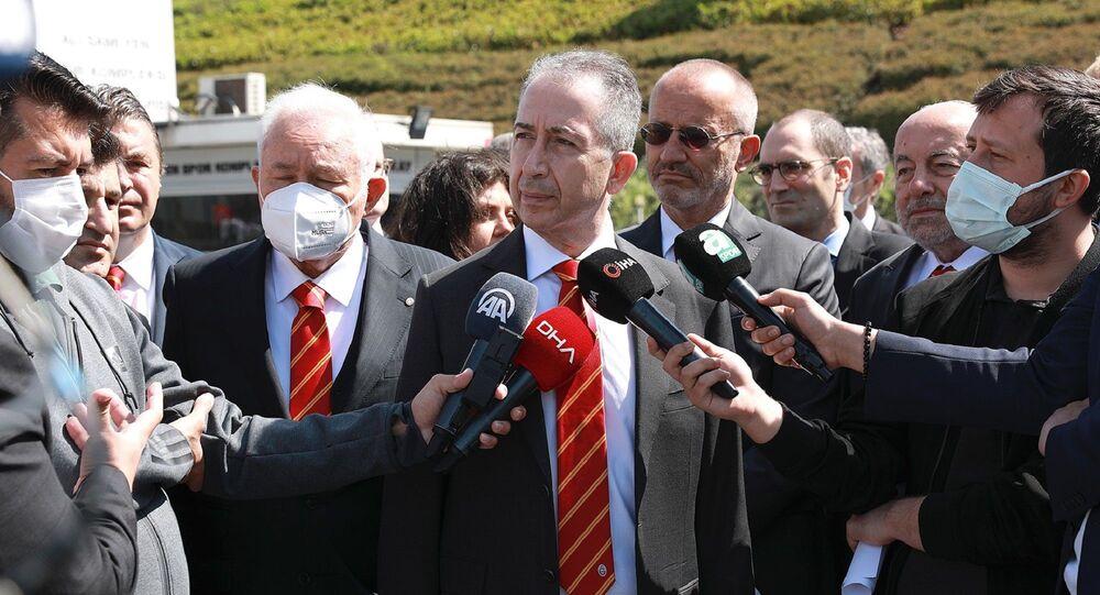 Galatasaray Kulübü Başkan adayı Metin Öztürk