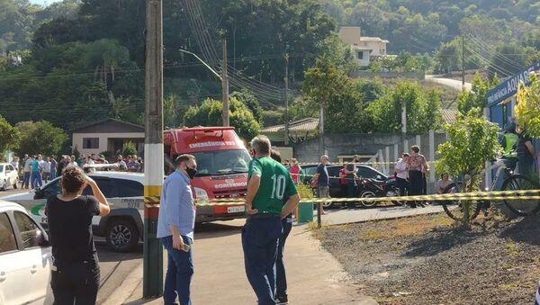 Brezilya'da anaokuluna palalı saldırı: 4 ölü - Sputnik Türkiye