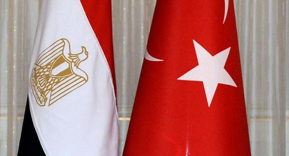Türkiye Mısır bayrakları