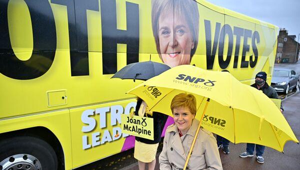 İskoçya 'bağımsızlığın oylanacağı' parlamento seçimlerine gidiyor - Sputnik Türkiye