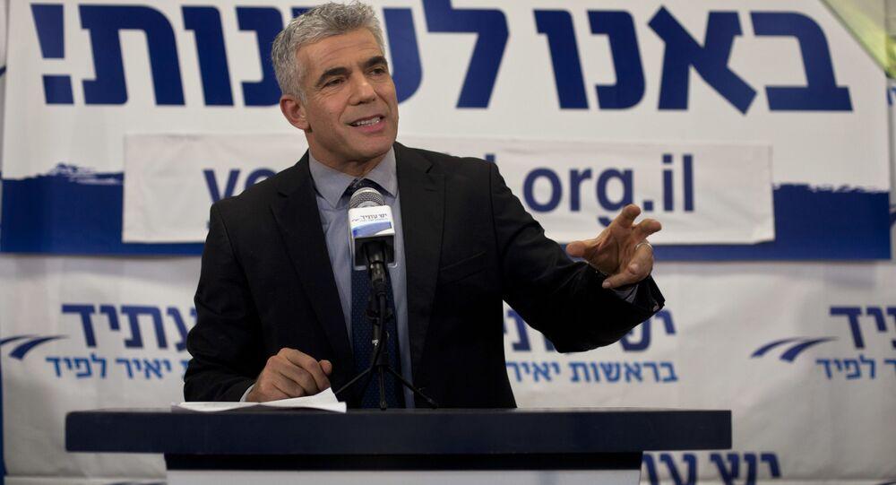 İsrail'de hükümeti kurma görevi, Netanyahu'nun rakibi Lapid'e verildi