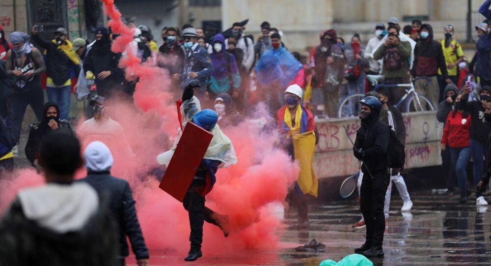 Kolombiya - protesto