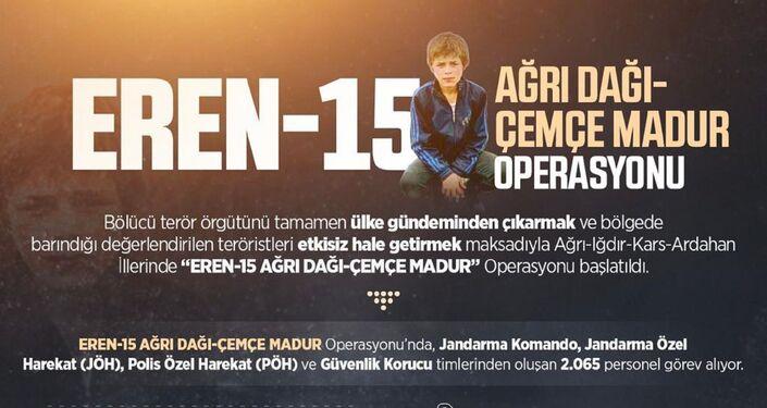 Eren-15 Ağrı Dağı-Çemçe Madur Operasyonu