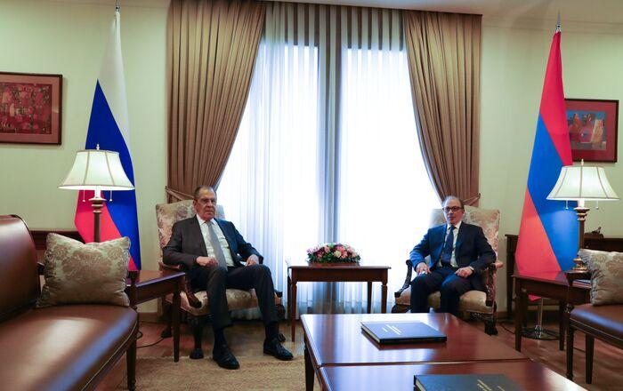 Sergey Lavrov- Rusya- Ermenistan
