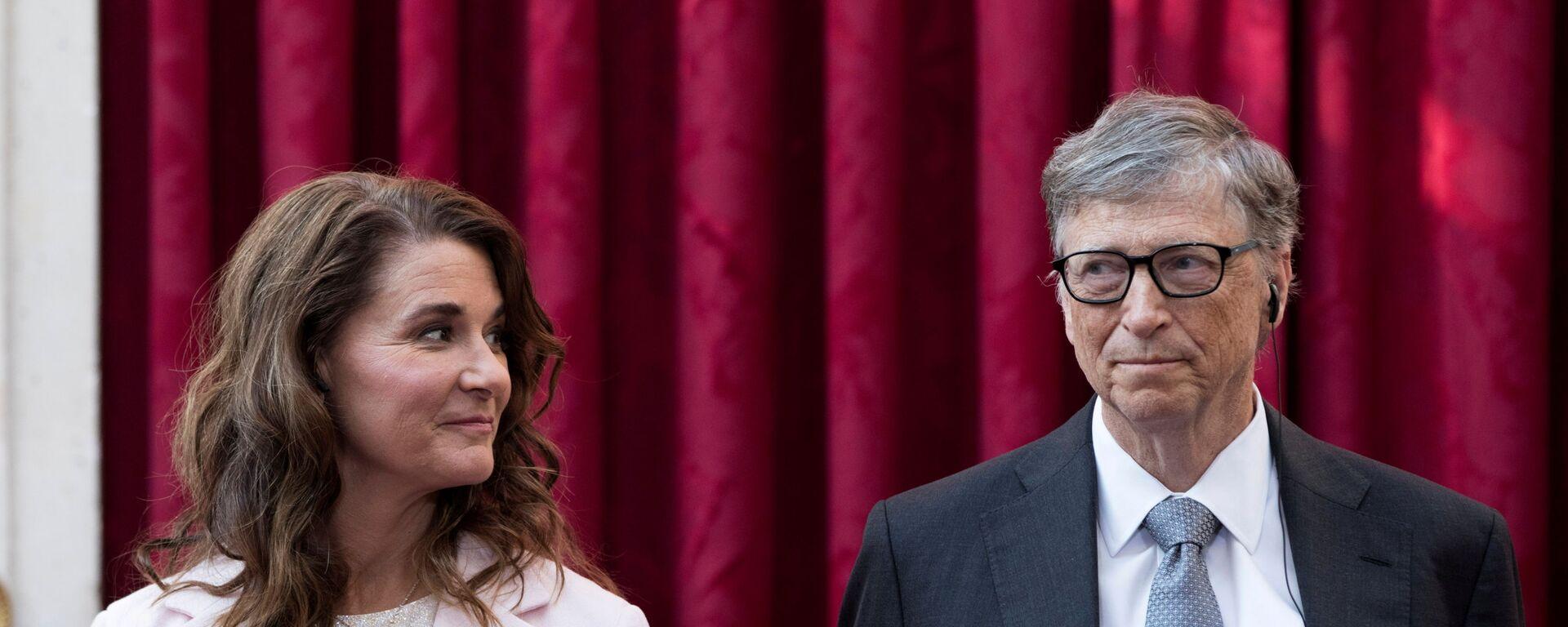 Melinda Gates- Bill Gates - Sputnik Türkiye, 1920, 14.07.2021