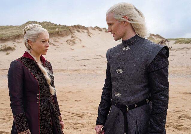 Game of Thrones'un dizisi House of the Dragon'dan yeni fotoğraflar
