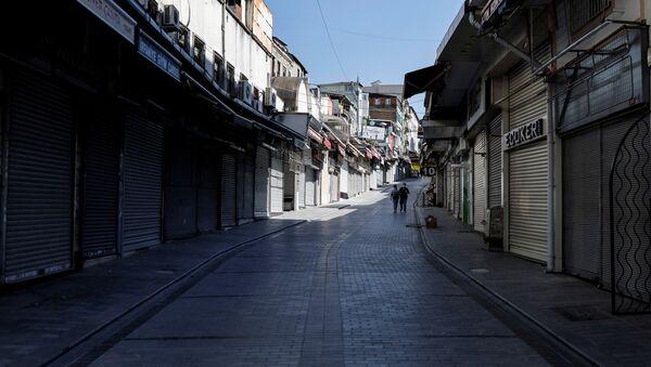 Tam kapanma, kısıtlama, koronavirüs - Sputnik Türkiye