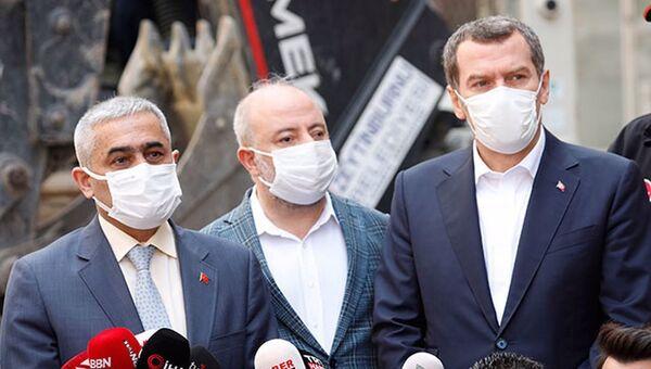 Zeytinburnu Belediye Başkanı Ömer Arısoy - Sputnik Türkiye