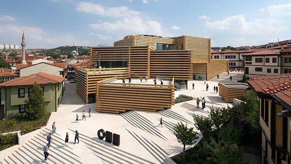 Kültür ve Turizm Bakanlığı'ndan, 'Avrupa Yılın Müzesi Ödülleri' açıklaması - Sputnik Türkiye