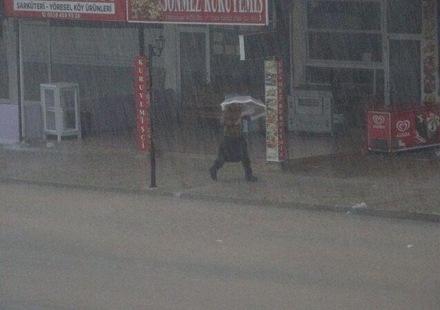 Sağanak yağış