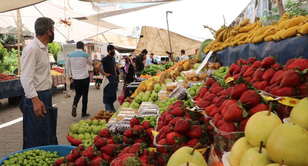 İstanbul, semt pazarı, koronavirüs