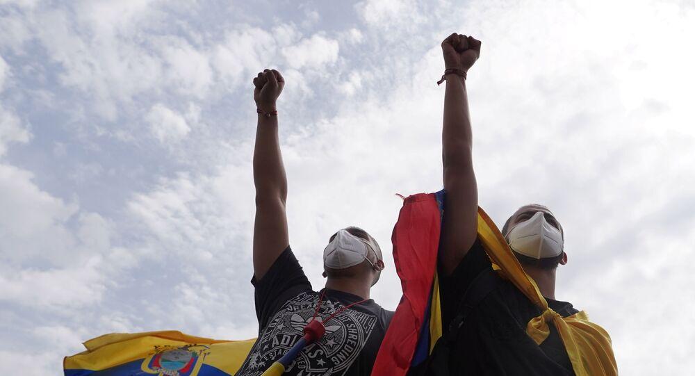 Kolombiya'daki protestolar