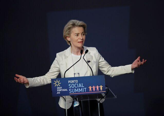 AB Komisyonu Başkanı Ursula von der Leyen