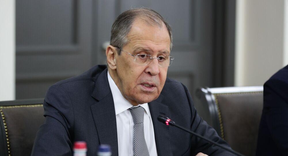 Rusya Dışişleri Bakanlığı Sergey Lavrov