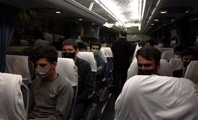 Samsun'da sahte kimlik ve seyahat izin belgeli Afgan uyruklu 25 göçmen yakalandı