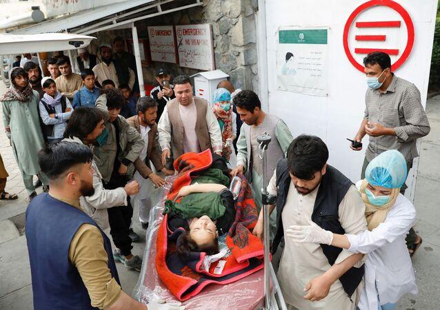Afganistan bombalı saldırı