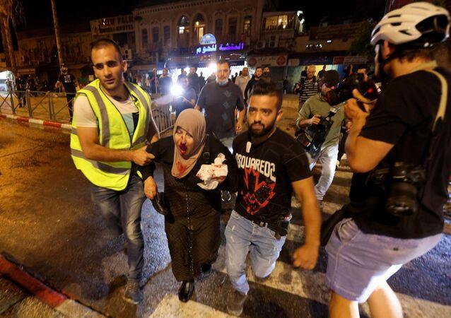 Mescidi Aksa ve çevresinde İsrail polisinin müdahalesi