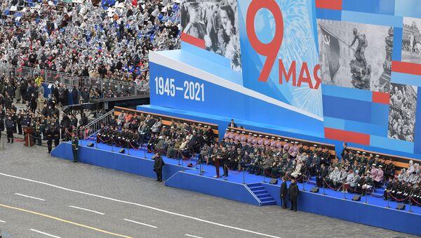 9 Mayıs Zafer Bayramı askeri geçit töreni - Sputnik Türkiye