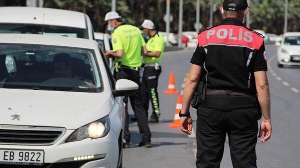 Polis, denetim, trafik polisi, İzmir - Sputnik Türkiye