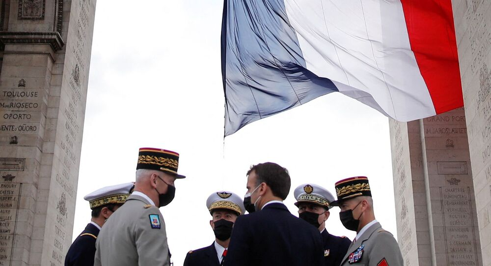 Emmanuel Macron- Fransa ordusu