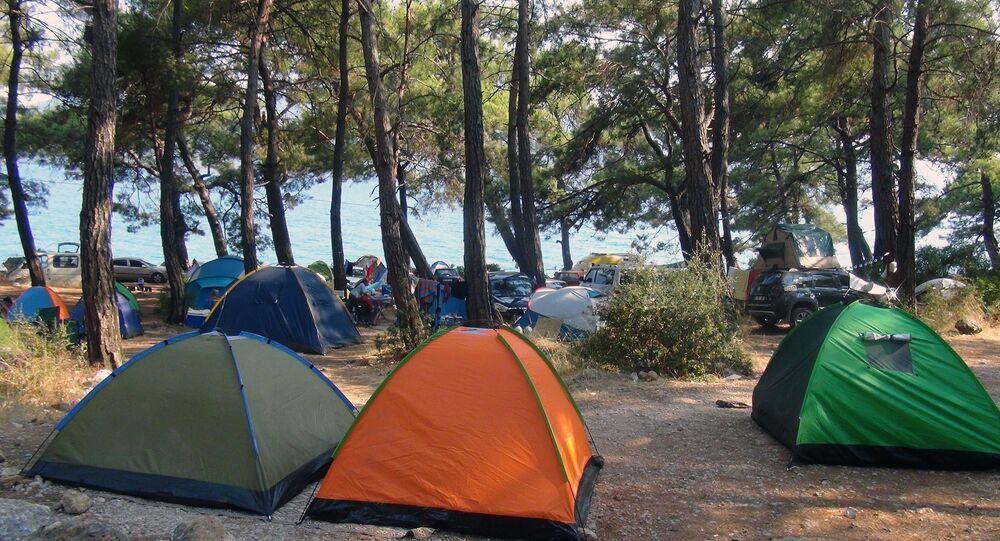çadır - tatil