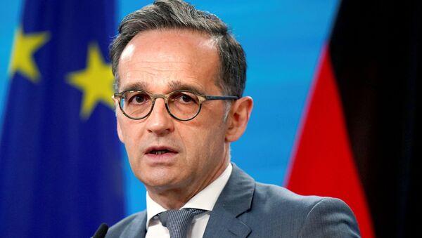 Almanya Dışişleri Bakanı Maas - Sputnik Türkiye