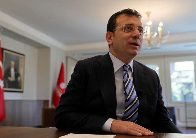 İstanbul Büyükşehir Belediye (İBB) Başkanı Ekrem İmamoğlu, C40 Büyük Kentler İklim Liderlik Grubu'nun (C40 Cities) düzenlediği çevrimiçi toplantıya katıldı.
