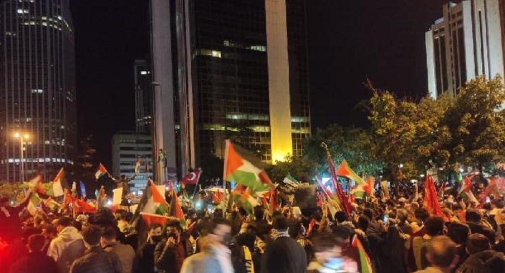 İstanbul-İsrail protesto