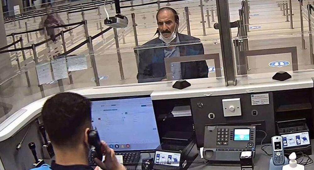Türkiye'ye sahte pasaportla 24 kez girdi, 25'incide yakalandı